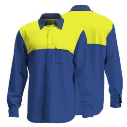 Cotton Drill Workwear Shirt 005 - Custom Made Uniforms