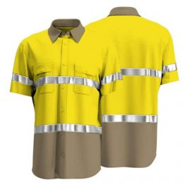 Cotton Drill Workwear Shirt 009 - Custom Made Uniforms