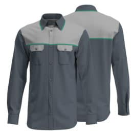 Cotton Drill Workwear Shirt 013 - Custom Made Uniforms