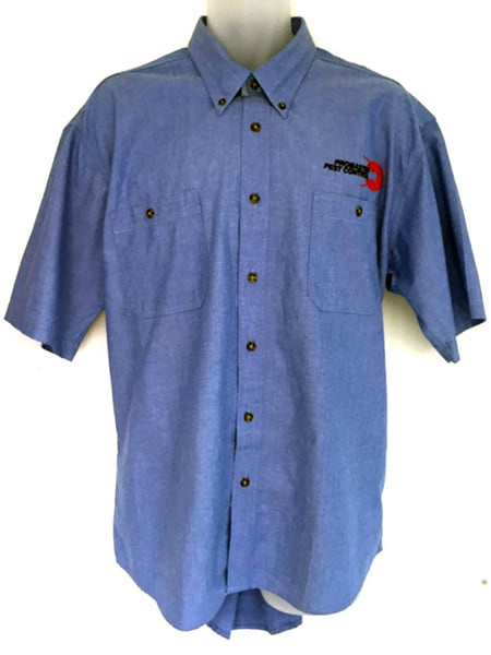 Cotton Drill Work Shirt for Promaster Pest Control - Custom Made Uniforms - Workwear
