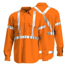 Cotton Drill Workwear Shirt 014 - Custom Made Uniforms