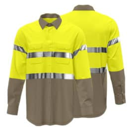 Cotton Drill Workwear Shirt 007 - Custom Made Uniforms